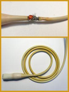 uszkodzony kabel usg